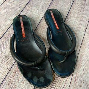 Prada Black Flip Flops 8
